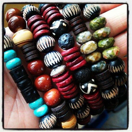 New Men's bracelets!