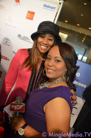 Here with Yolanda Adams