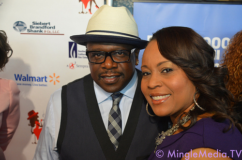 Me with Cedric the Entertainer