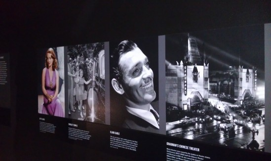 The Hollywood exhibit